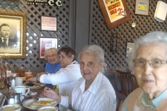 Lunch Bunch at Crackel Barrell